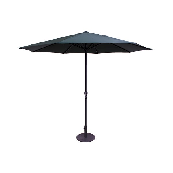 Green 9-Foot Patio Umbrella