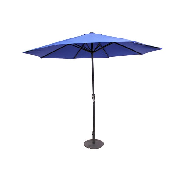 Navy Blue 9-Foot Patio Umbrella