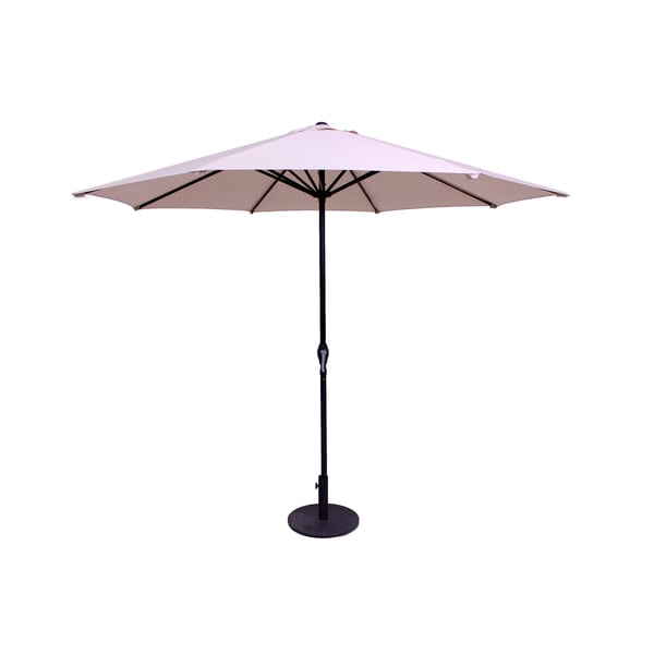 Beige 9-Foot Patio Umbrella