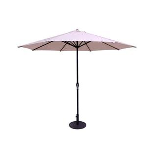 Beige 9-Foot Patio Umbrella