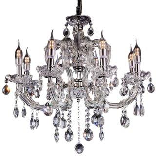 Fleur Crystal Crystal Chandelier with LED Lights