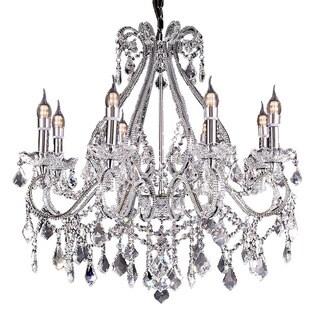 Nola Crystal Crystal Chandelier with LED Lights