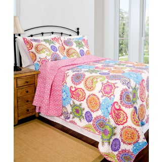 Slumber Shop Jennifer Reversible 3-piece Quilt Set