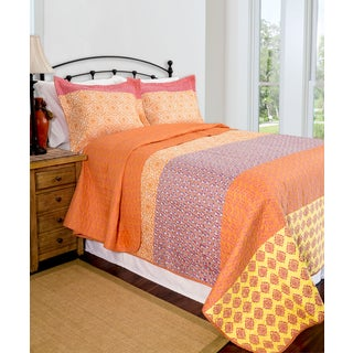 Slumber Shop Reversible Escapade 3-piece Quilt Set
