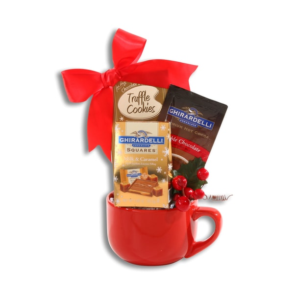 Ghirardelli Holiday Hot Cocoa Gift Set