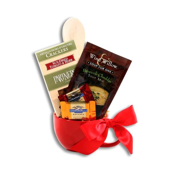 Red Cooking Mug Gift Set