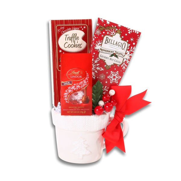 Winter Wonderland Ceramic Mug Chocolate Gift Set
