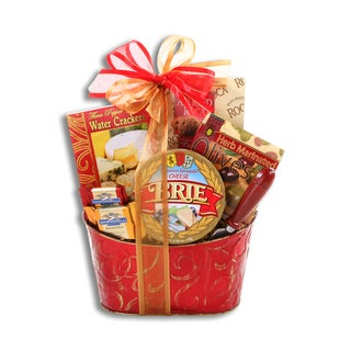 Alder Creek Cheese and Crackers Gift Basket