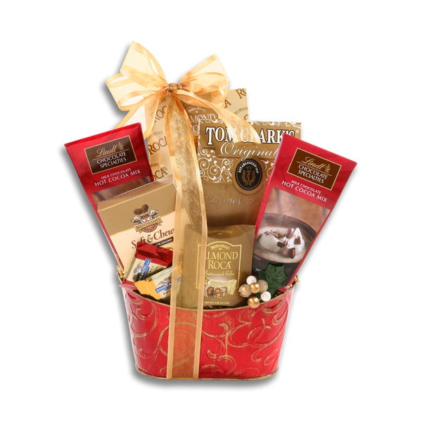 Lindt Hot Chocolate Gift Basket