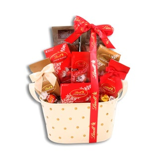 Alder Creek Lindt Chocolate Wishes Gift Basket