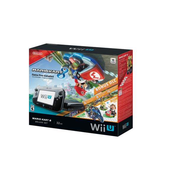 Nintendo Wii U Mario Kart 8 Bundle (As Is Item)