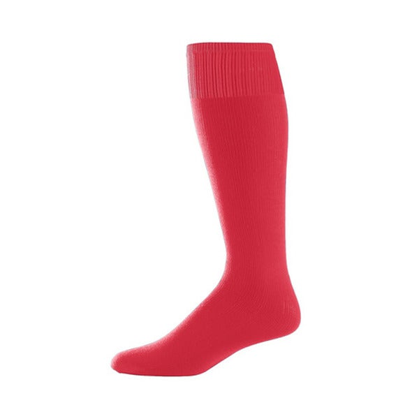 Red Adult Sport Socks