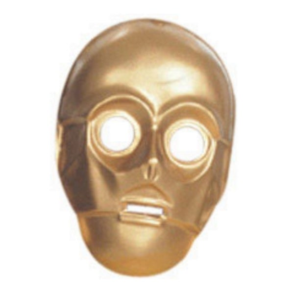 Star Wars C-3PO PVC Face Mask