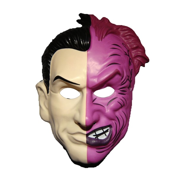 Harvey Dent Two Face PVC Mask from Batman Forever