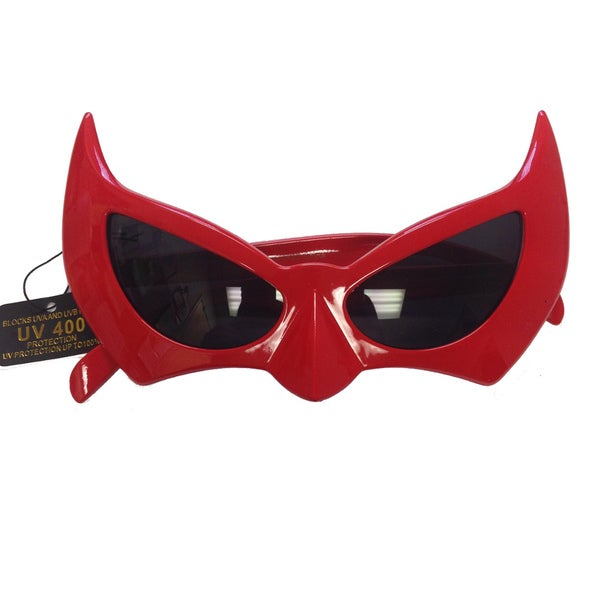 Red Bat-style Sunglasses