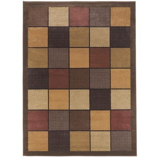 Patchworks Contemporary Area Rug (5'2 x 7'2)