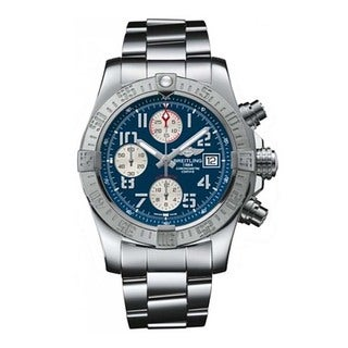 Men's Breitling Avenger II Blue Dial Chronograph Watch
