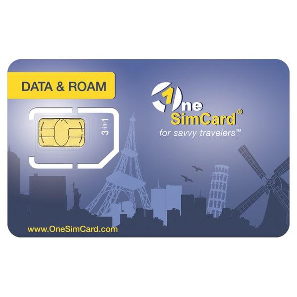 OneSimCard Data and Roam SIM Card Including $100 Airtime