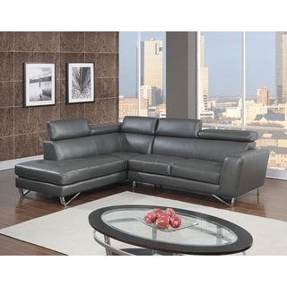 Minnesota Leather Air Modern Sectional, Left or Right Facing