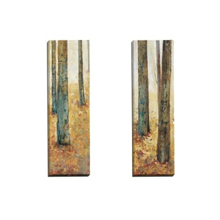 Portfolio Canvas Decor 'Tranquil Forest I' Elinor Luna 12-inch x 36-inch Wrapped Canvas Wall Art