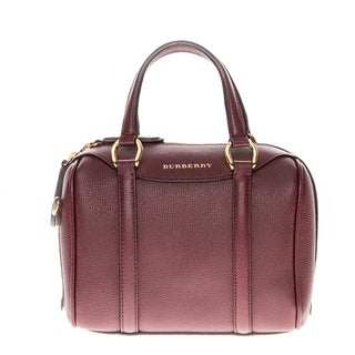 Burberry Small Alchester in Grainy Leather