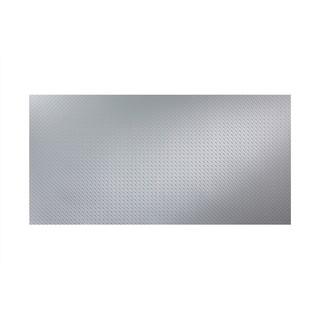 Fasade Diamond Plate Thistle 4-foot x 8-foot Wall Panel