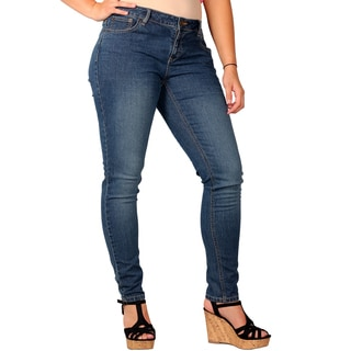 Zanadi Junior Plus Stonewash Skinny Jean