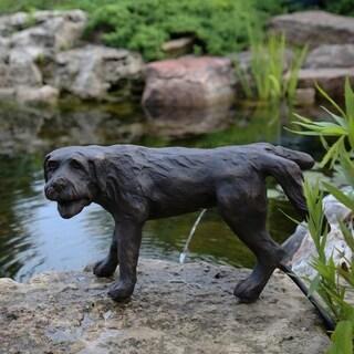 Naughty Dog Spitter Fountain