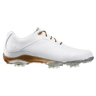 FootJoy Ladies D.N.A. Golf Shoes 94808 White/Bronze