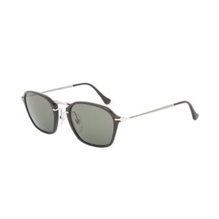 Polarized PO 3047S 9558 Persol Sunglasses in Black and Silver