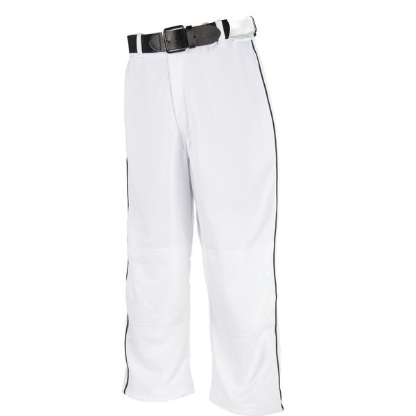 Franklin Sports White XS Youth Relaxed Fit Baseball Pants