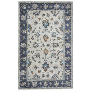 Arden Loft Crown Way Natural/ Charcoal Grey Oriental Hand-tufted Wool Area Rug (9' x 12')