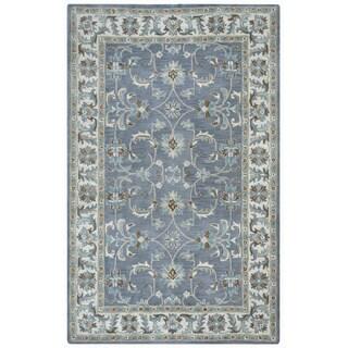 Arden Loft Crown Way Oriental Blue-grey Hand-tufted Wool Area Rug (10' x 14')