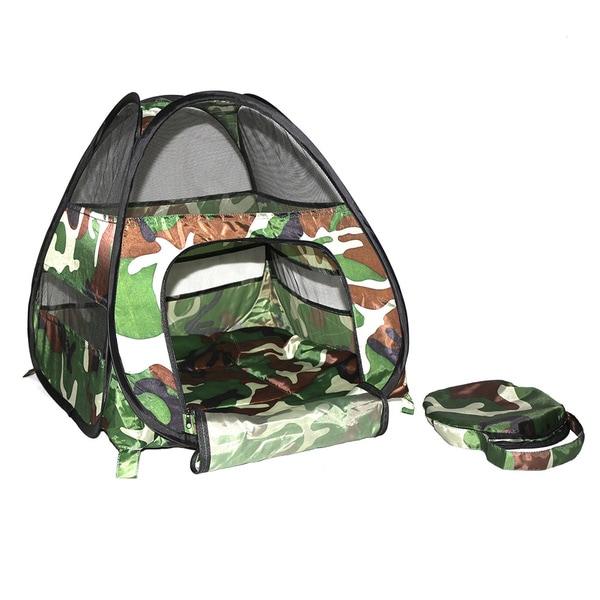Kitty Cozy Tent Camo Cat Tent