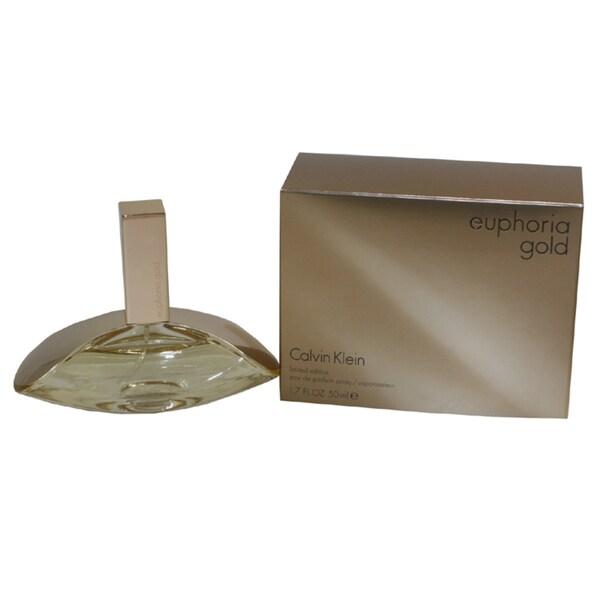 Calvin Klein Euphoria Gold Women's 1.7-ounce Eau de Parfum Spray (Limited Edition)