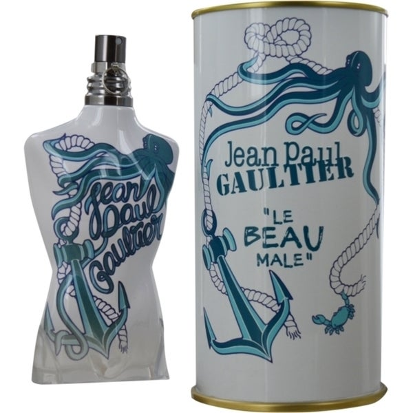 Jean Paul Gaultier Le Beau Male Men's 4.2-ounce Eau de Toilette Intensely Fresh Spray (Summer 2014)