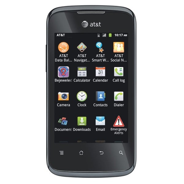 HUAWEI Fusion 2 U8665 AT&T 4GB Unlocked GSM 4G LTE Android Cell Phone - Black (Refurbished)