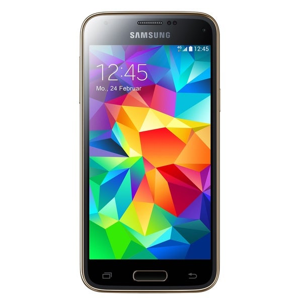 Samsung Galaxy S5 Mini G800F 16GB Unlocked GSM 4G LTE Android Cell Phone - Gold (Refurbished)