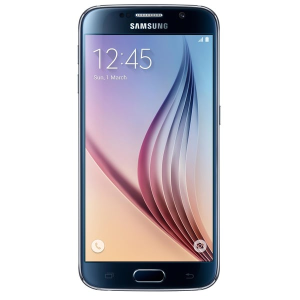 Samsung Galaxy S6 G920a 32GB Unlocked GSM 4G LTE Octa-Core Android Cell Phone - Black
