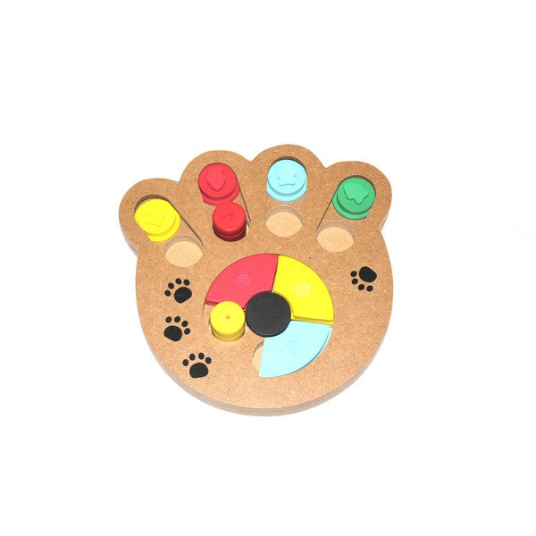Wooden Puzzle Dog Toy