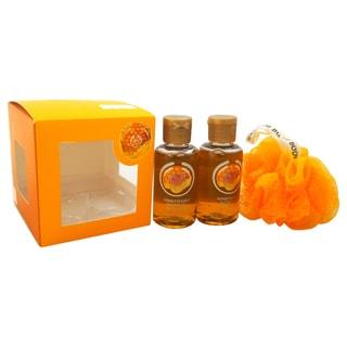 The Body Shop Mini Honeymania Gift Cube 3-piece Set