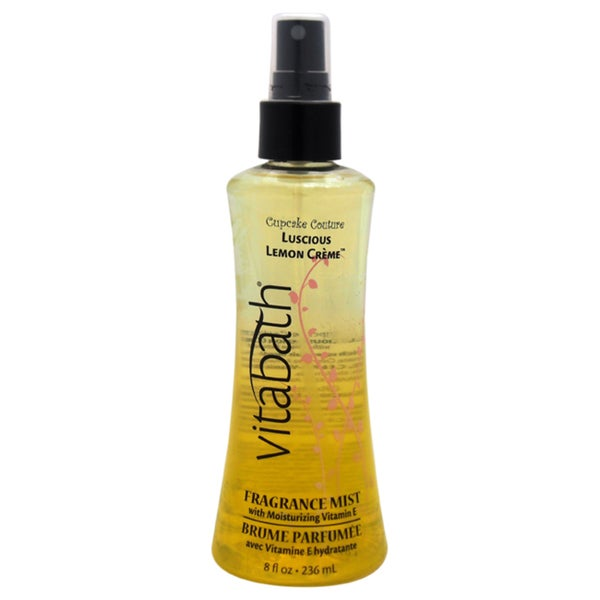 Vitabath Luscious Lemon Creme 8-ounce Body Mist