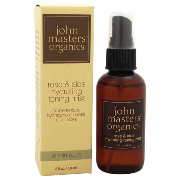 John Masters Organics Rose & Aloe Hydrating 2-ounce Toning Mist