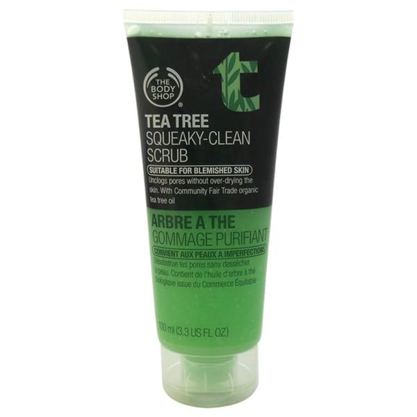 The Body Shop Tea Tree Squeaky-Clean 3.3-ounce Facial Scrub