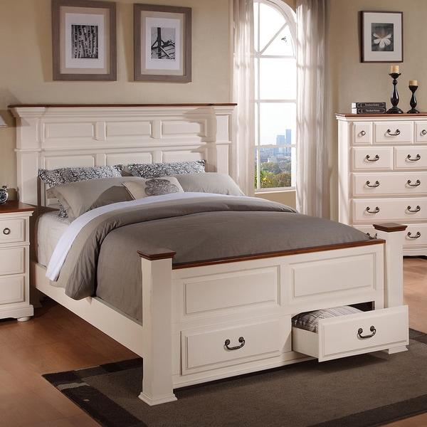 B382W PRESCOTT QUEEN BED