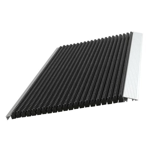 Black Ultimate Bristle Mat