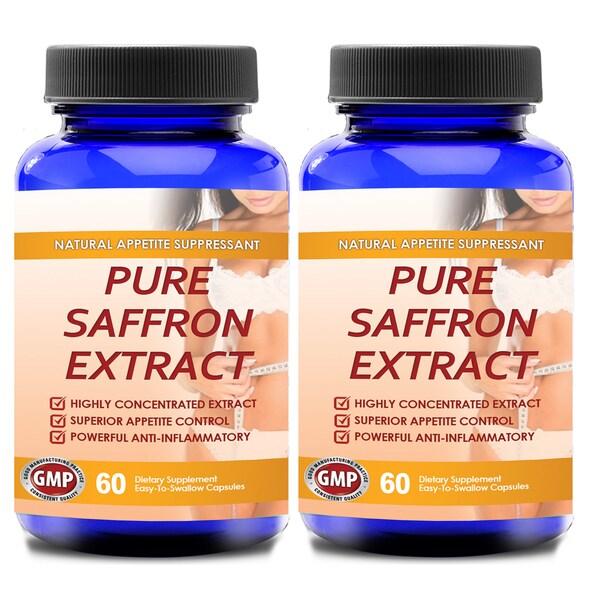 100-percent Pure Non-GMO Saffron Extract (120 Capsules)