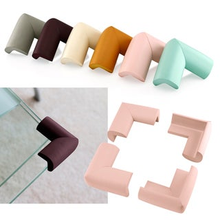 Gearonic 4Pcs Baby Kids Safety Corner Edge Protectors Soft Protector