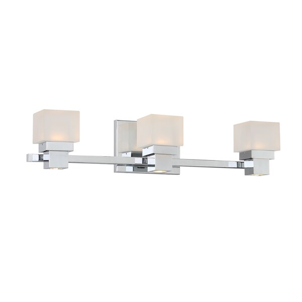 Kube LED 3 Light 3-light Vanity and Wall Light 16207234