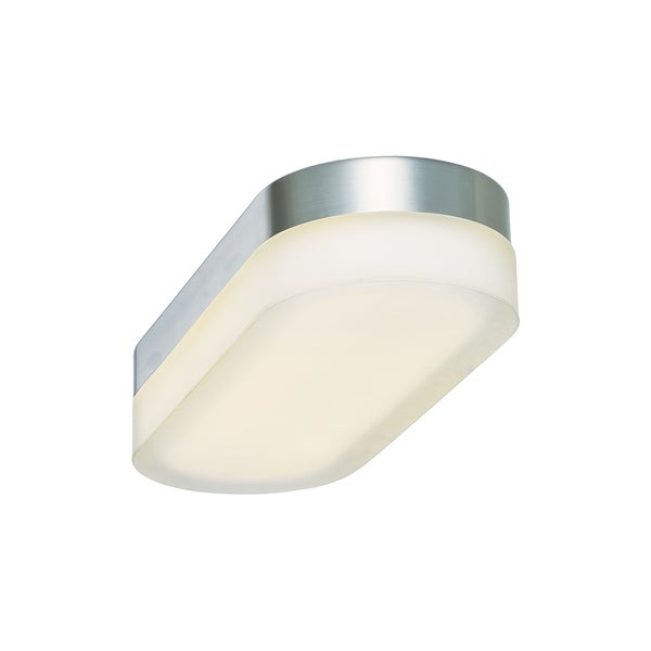 Slice LED Oval 1-light Flush Mount